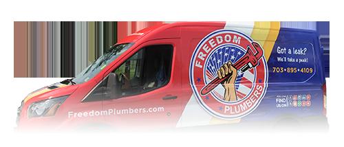 Freedom Plumbers Truck
