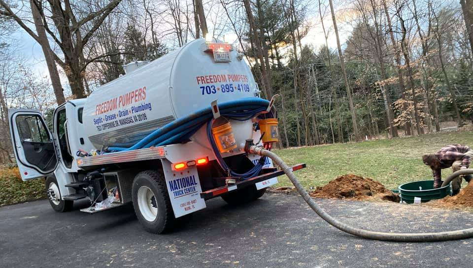 Freedom Pumpers, Septic Service Septic Filter and Septic Tank Riser.